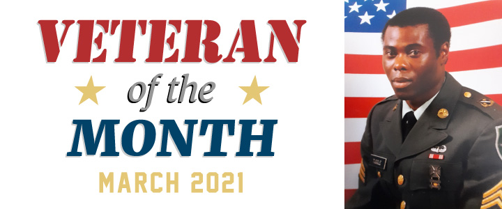 The SEGAMI Veteran of the month for March 2021: Dwight Tuggle
