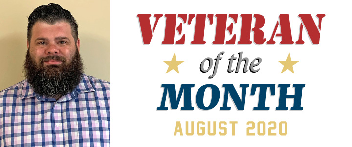 The SEGAMI Veteran of the month for August 2020: Chad Cheshire